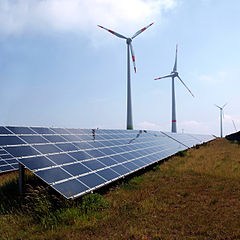 Wer gegen die Energiewende ist …