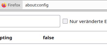 Firefox PDF Javascript deaktivieren
